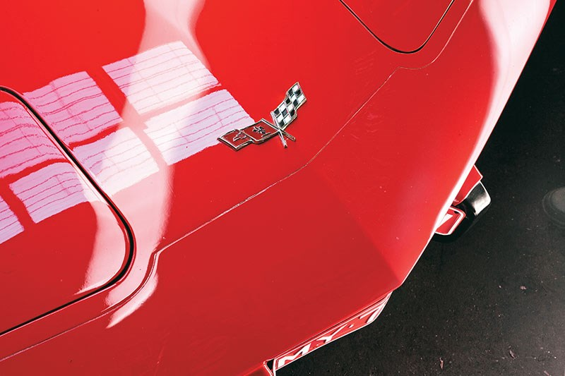 corvette badge