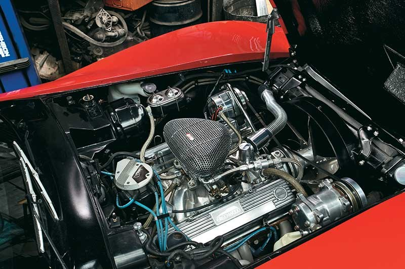 corvette engine bay