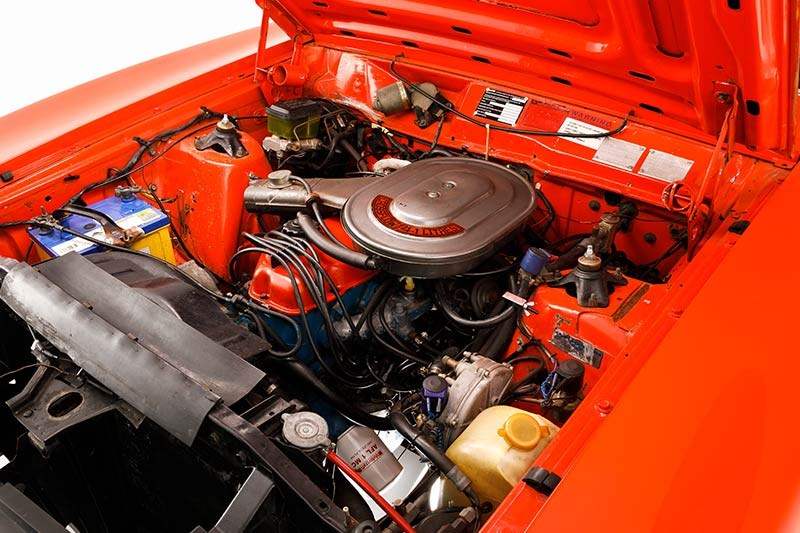 ford falcon xc engine bay 3
