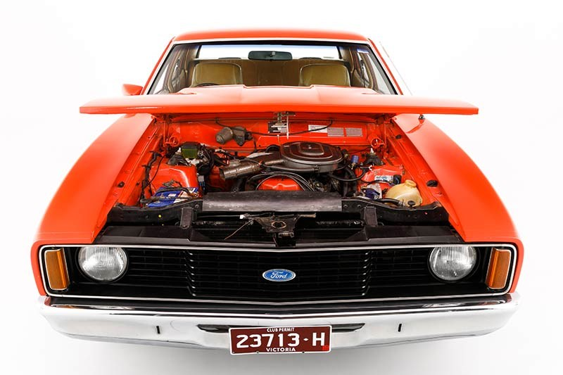 ford falcon xc engine bay 4