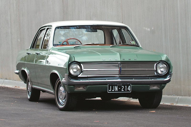holden hd front