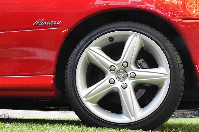 holden monaro wheel