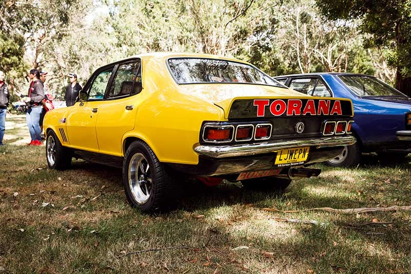 holden torana lj rear