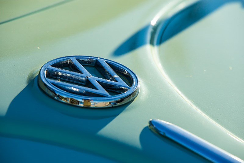 vw beetle badge