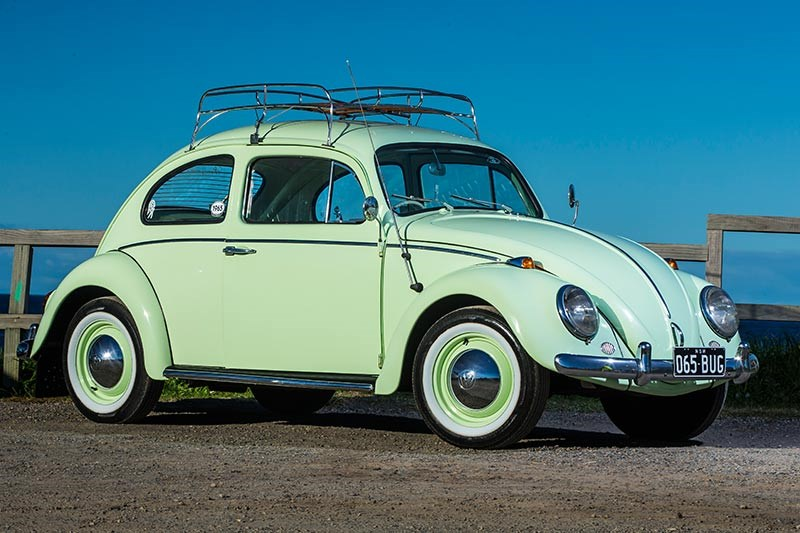 vw beetle side