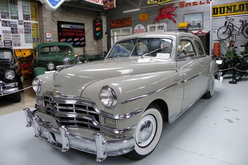 1949 Chrysler Royal Coupe today s tempter