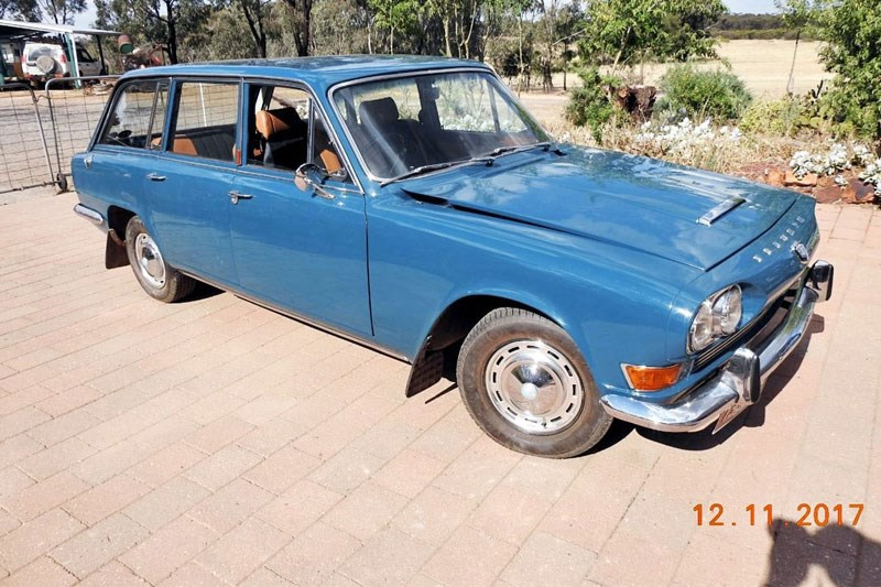 1968 Triumph 2000 today s tempter