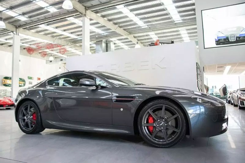 Aston Martin V8 Vantage today s tempter