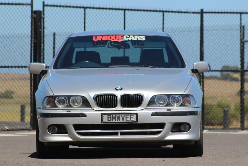 bmw 540 front