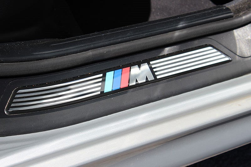 bmw 540i doorsill