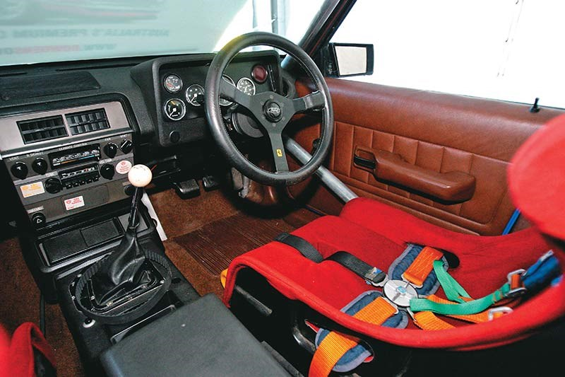 dick johnson falcon interior