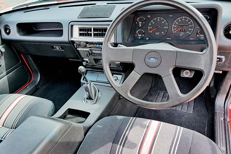 ford sundowner interior