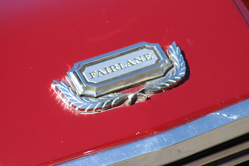 ford zg fairlane badge 3