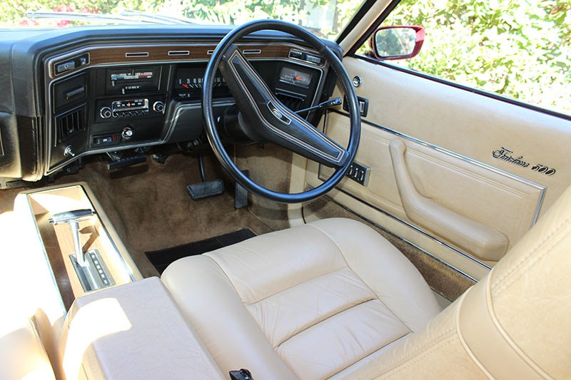 ford zg fairlane interior