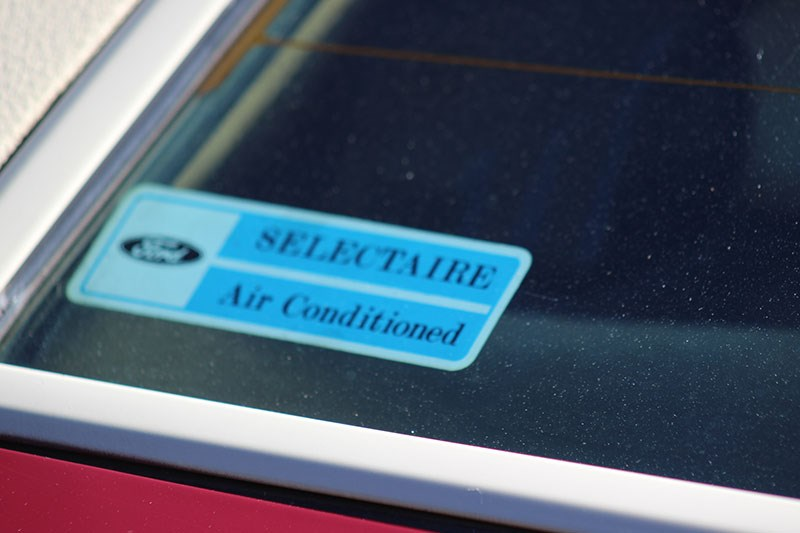 ford zg fairlane sticker
