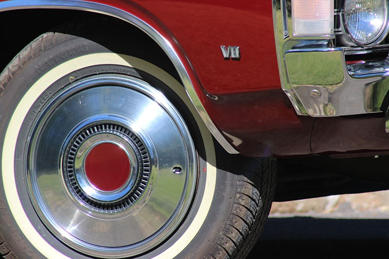 ford zg fairlane wheel