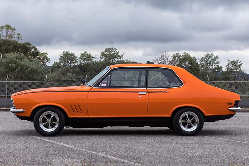 holden torana side