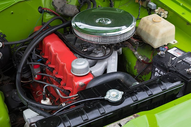 valiant charger engine bay 2
