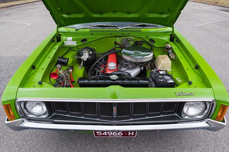 valiant charger engine bay 4