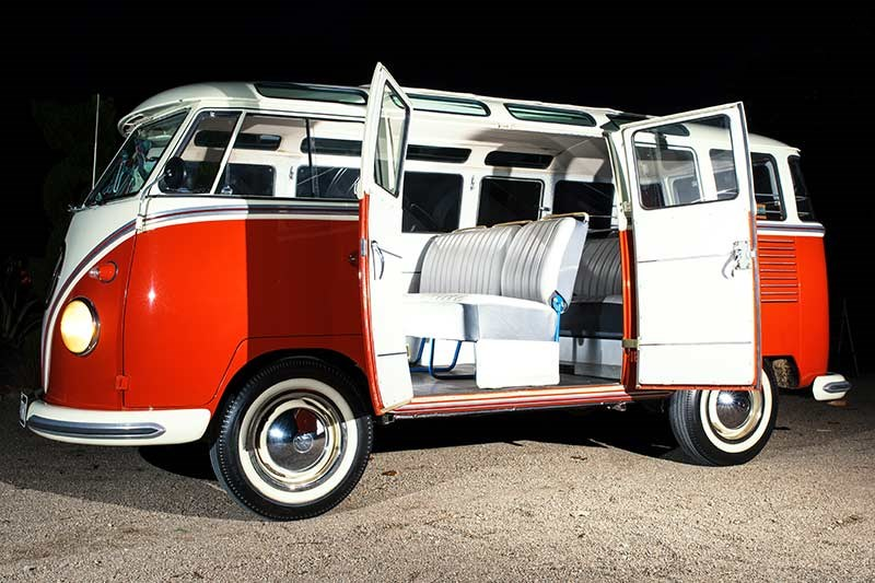 vw kombi side