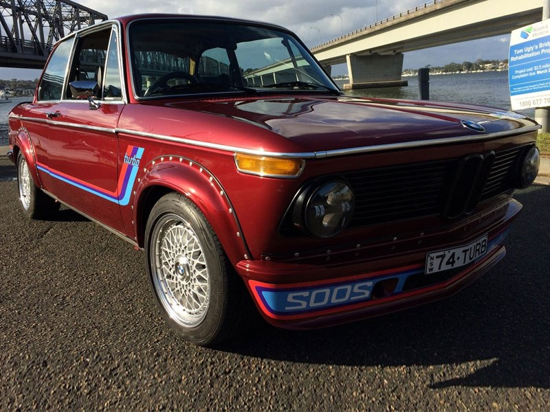 1974 BMW 2002 today s tempter