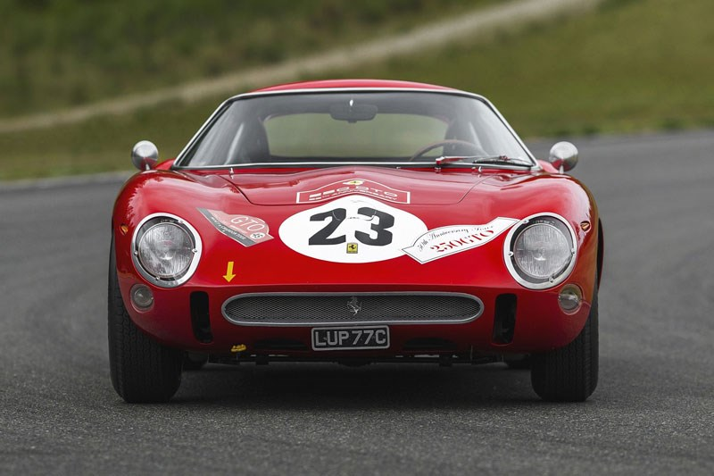 250 gto up for auction again front