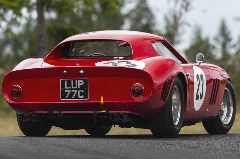 250 gto up for auction again rear