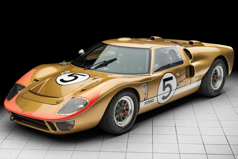 Ford GT40 1966 Le Mans LEAD