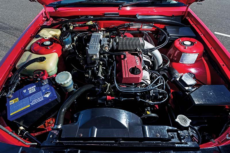 holden vl commodore turbo engine bay