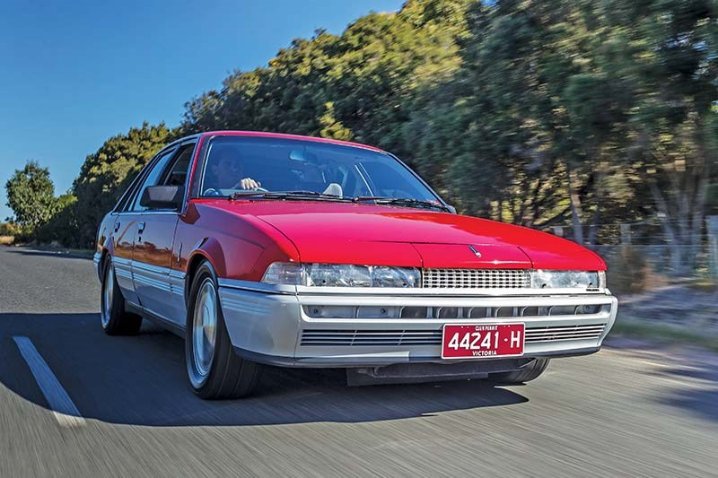 holden vl commodore turbo onroad