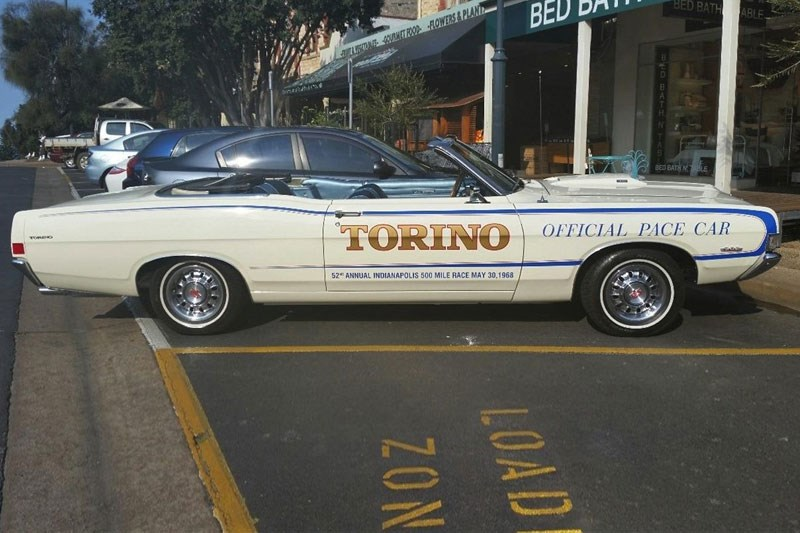 1968 Ford Torino GT pace car today s tempter