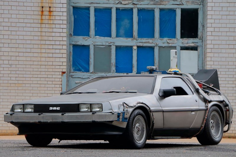 Mecum Movie Cars DeLorean