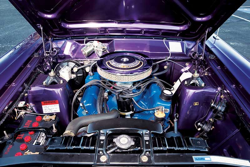 fairlane 500 engine bay 2