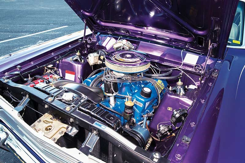 fairlane 500 engine bay