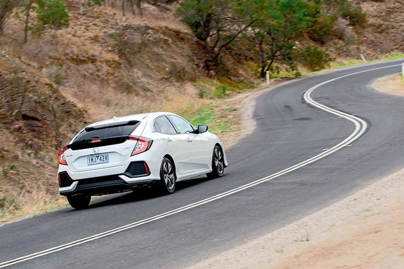 honda civic onroad