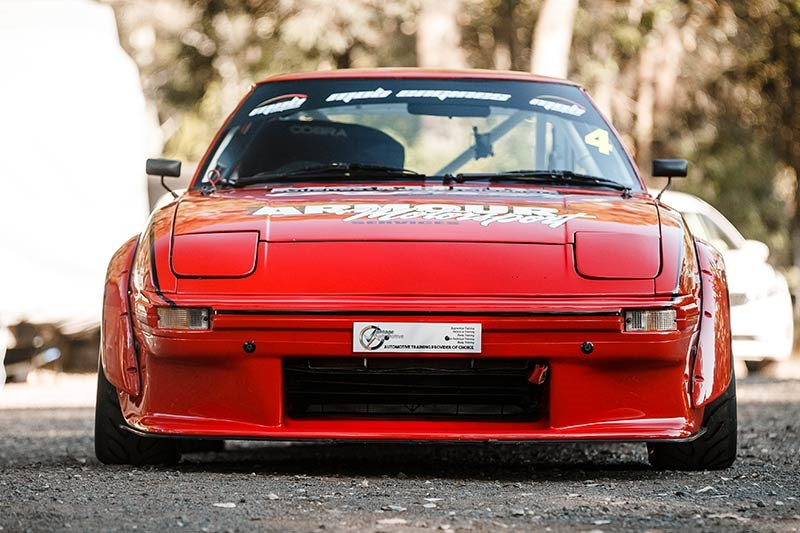 mazda rx7 front