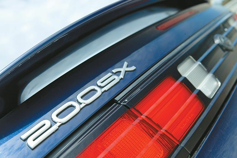 nissan 200sx badge