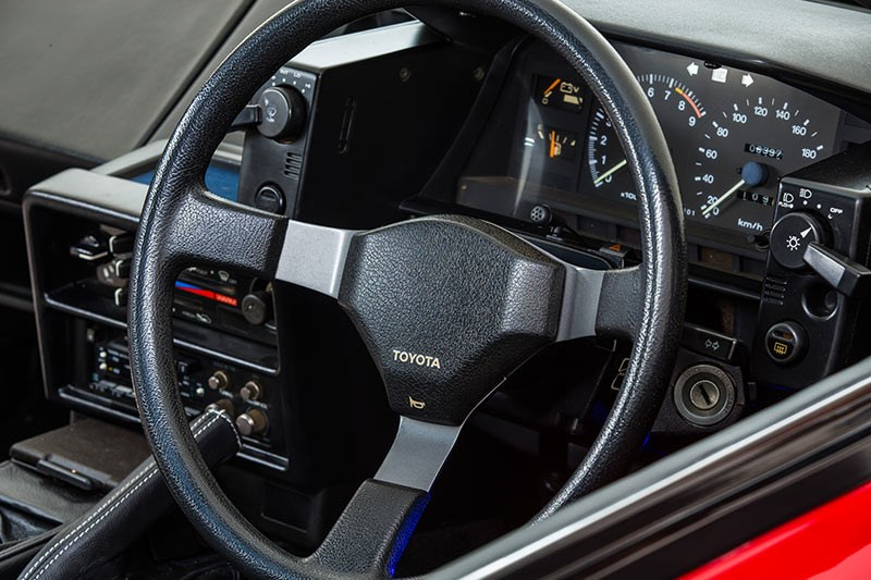toyota mr2 dash