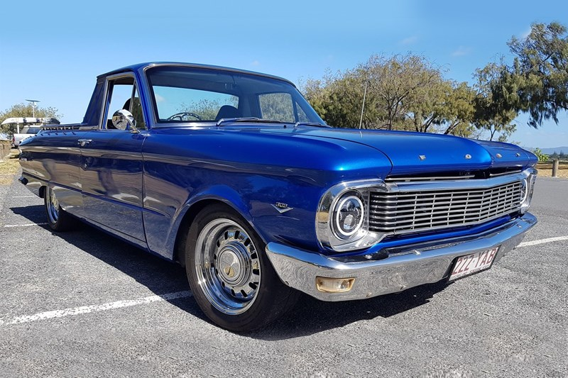 1966 XP Falcon ute