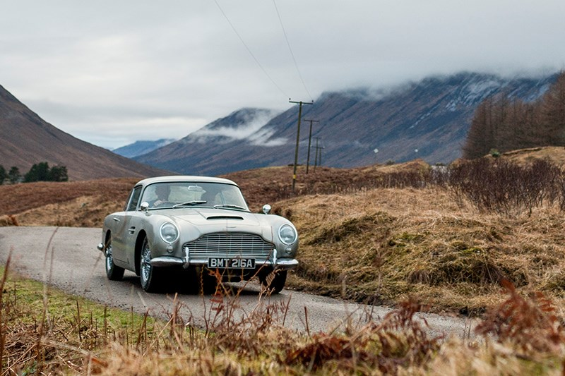 Aston Martin continuation DB5 front spectre