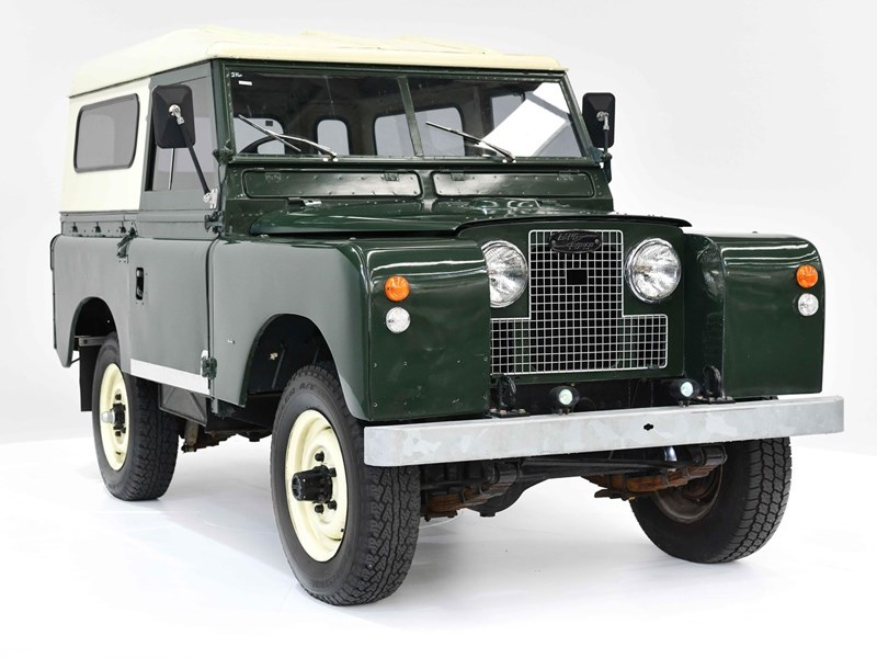 1958 Land Rover Series Ii  U2013 Today U2019s Tempter