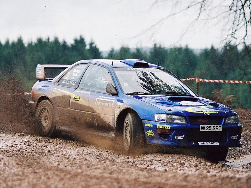 Richard Burns WRC Impreza For Sale period