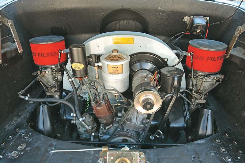 ascort engine bay