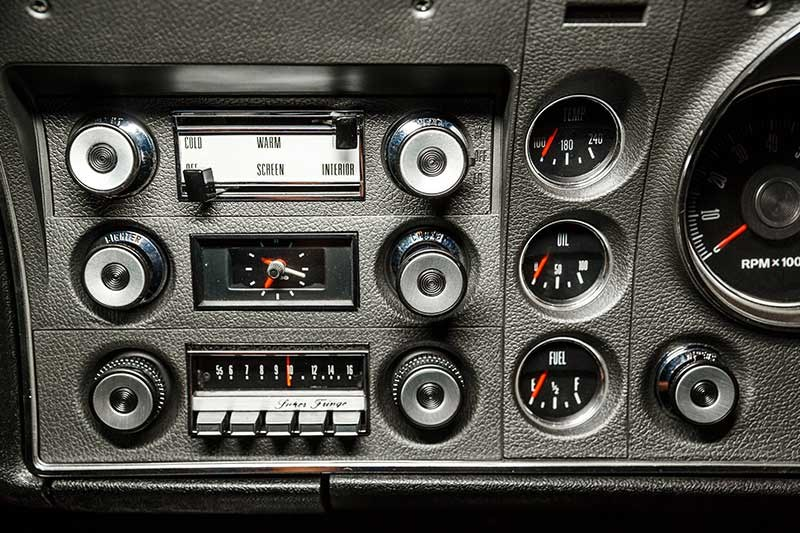 ford falcon phase ii dash