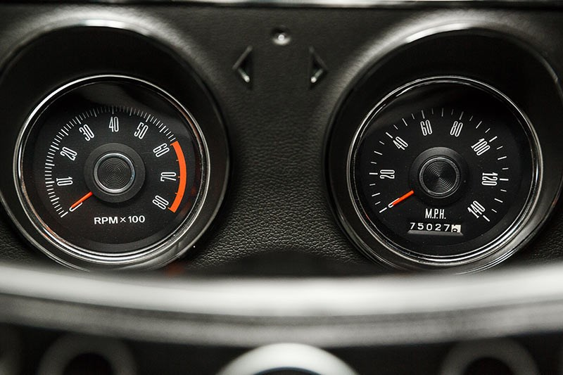 ford falcon phase ii gauges