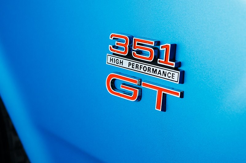 ford falcon phase ii gt badge