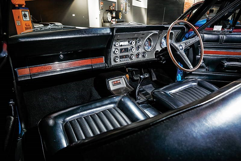 ford falcon phase ii gtho interior