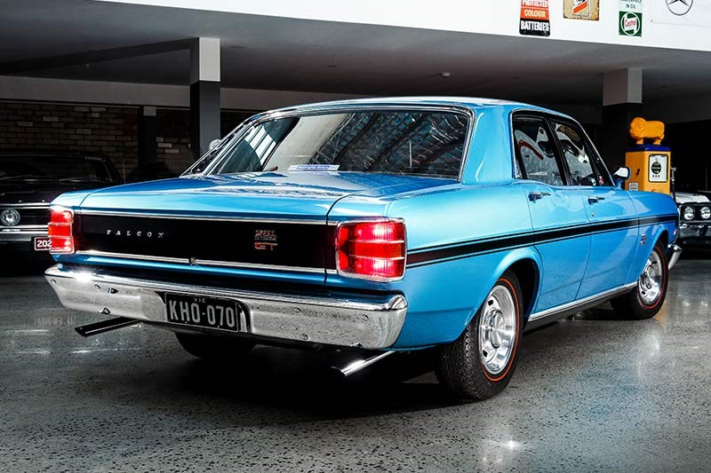 ford falcon phase ii rear