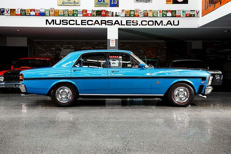ford falcon phase ii side