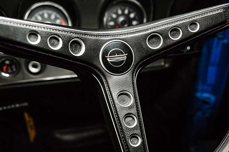 ford falcon phase ii steering wheel